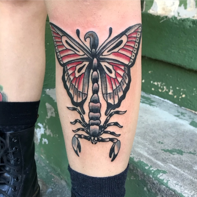 scorpion butterfly by eric