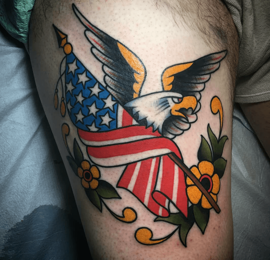 Flag Tattoo